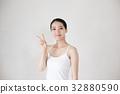 成熟的女人 一個年輕成年女性 女生 32880590