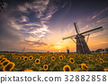 sakura furusato square, summer, dutch windmill 32882858