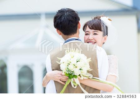 婚禮 擁抱 抱抱 32884563