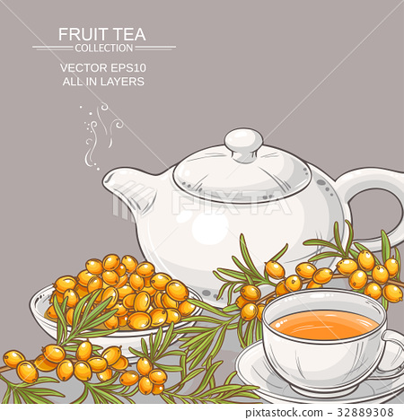 sea buckthorn tea 32889308