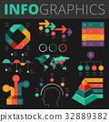 인포그래픽, 요소, 부분 32889382