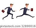 businessman, vector, illustration 32890016