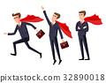 businessman, cartoon, concept 32890018