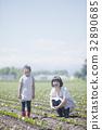 ผู้ปกครองและเด็กที่ทำงานในภาคสนาม 32890685