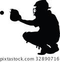 baseball catcher 32890716