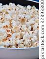 爆米花 食物 食品 32893800