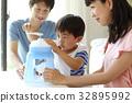 ครอบครัว,ฤดูร้อน,หน้าร้อน 32895992