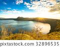ฮอกไกโด,ฤดูใบไม้ร่วง,พระอาทิตย์ตก 32896535