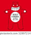christmas, bear, new 32897214