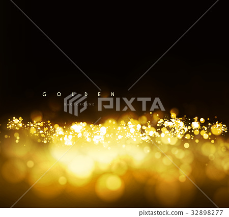 Gold background with bokeh 32898277