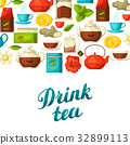 茶 杯子 杯 32899113