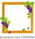 grape, frame, wooden 32900840