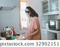 แม่บ้าน,ผู้หญิง,หญิง 32902151