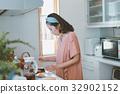 แม่บ้าน,ผู้หญิง,หญิง 32902152