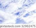 White clouds and sky background 32902475