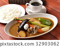 curry soup lunch 32903062