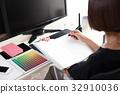商務設計辦公桌 32910036