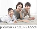 가족, 미소, 카펫 32912228