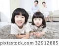 가족, 딸, 아들 32912685
