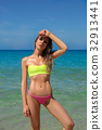 beach, beautiful, bikini 32913441