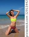 beach, beautiful, bikini 32913442