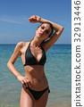 beach, beautiful, bikini 32913446
