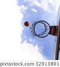 Basketball field goal 32913801