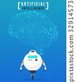 หุ่นยนต์,ศิลปะ,เวกเตอร์ 32914573