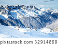 The mountain view from the station of Aiguille du 32914899