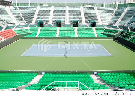 테니스장,올림픽공원,송파구,서울,한국 32915219
