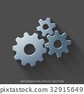 vector, 3d, metal 32915649