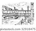 佛罗伦萨 矢量 矢量图 32916475