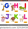 educational cartoon alphabet for children 32918438