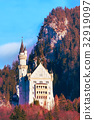Famous bavaria landmark Neuschwanstein Castle in 32919097