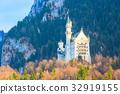 Famous bavaria landmark Neuschwanstein Castle in 32919155