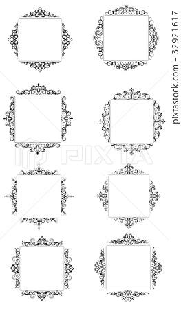 Vintage baroque frame 32921617