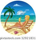 girl on the beach 32921831