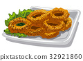 fried squid rings 32921860