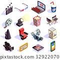 icons, cinema, television 32922070