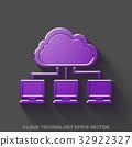 icon, vector, 3d 32922327