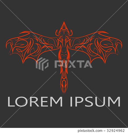 Dragon logo 32924962