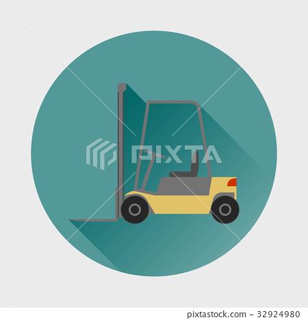 Loader vector icon. 32924980