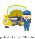 mechanic, maintenance, preparation 32925667
