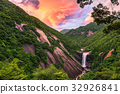 yakushima, fall, water fall 32926841