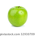 Green apple isolated on white 32930709