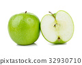 Green apple isolated on white 32930710