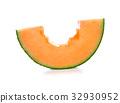 Melon isolated on white background. 32930952