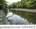 Ise Jingu Uchinomiya Isuzu River Mitsubani Area 32934672