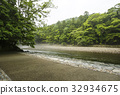 Ise Jingu Uchinomiya Isuzu River Kawagiri Asagi Mitewashiba 32934675