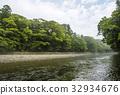 Ise Jingu Uchinomiya Isuzu River Kawagiri Asagi Mitewashiba 32934676